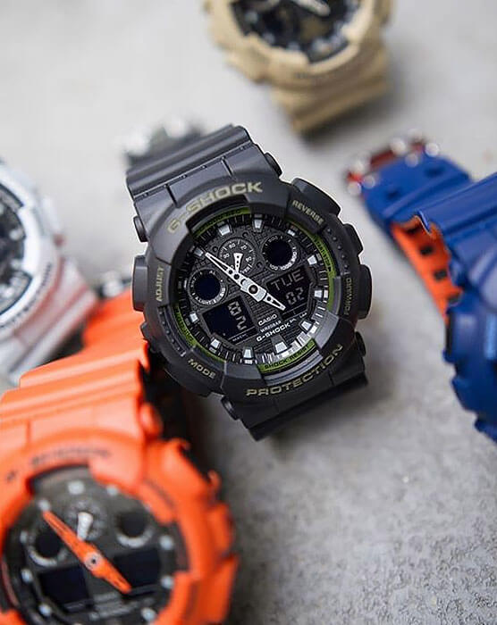 Часы Casio G-Shock GA-100L-1AER